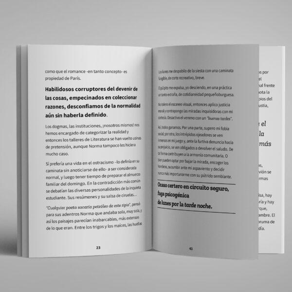 Hijas del fracaso - Libro abierto - Fabri Velázquez