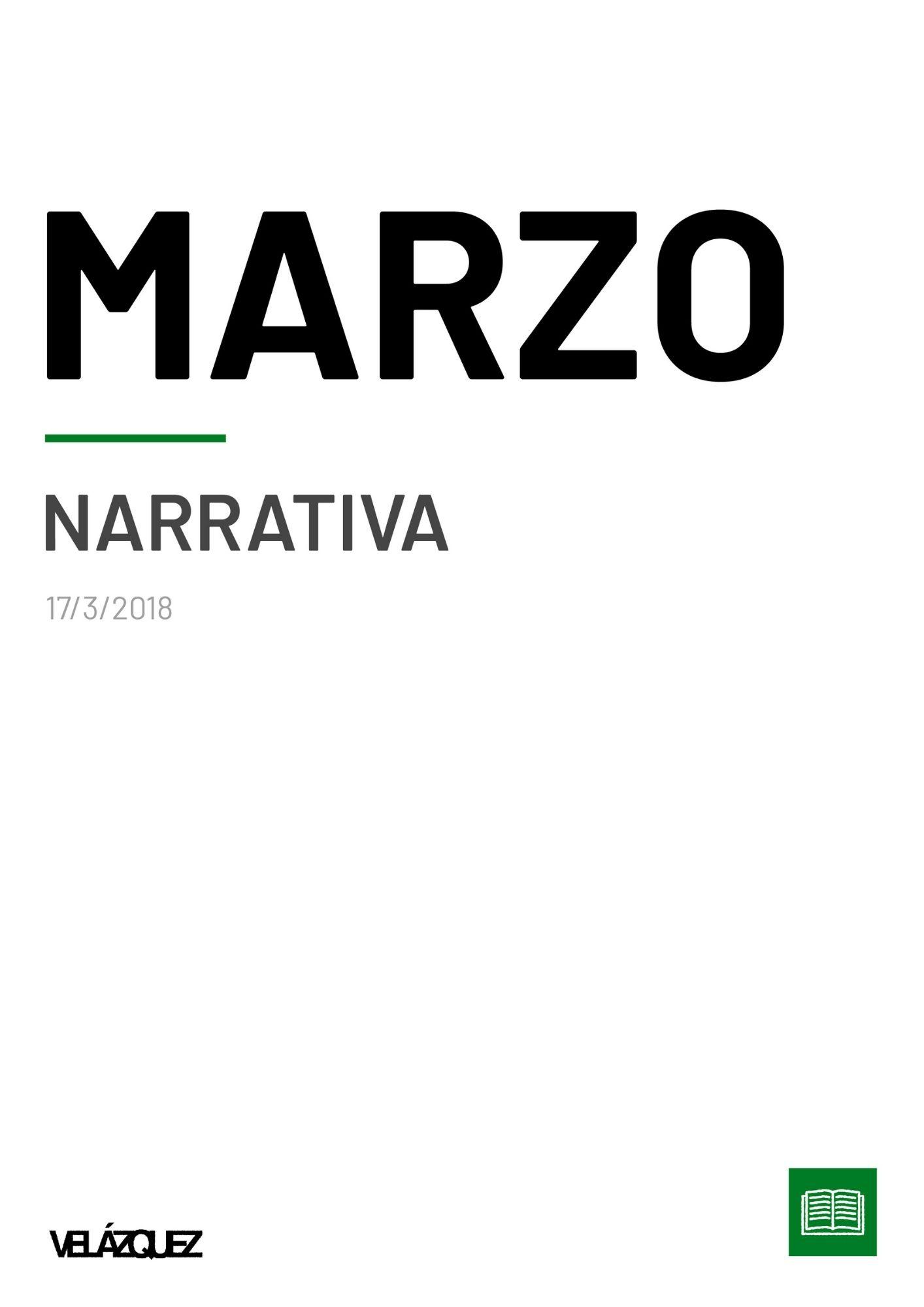 Marzo - Narrativa - Fabri Velázquez