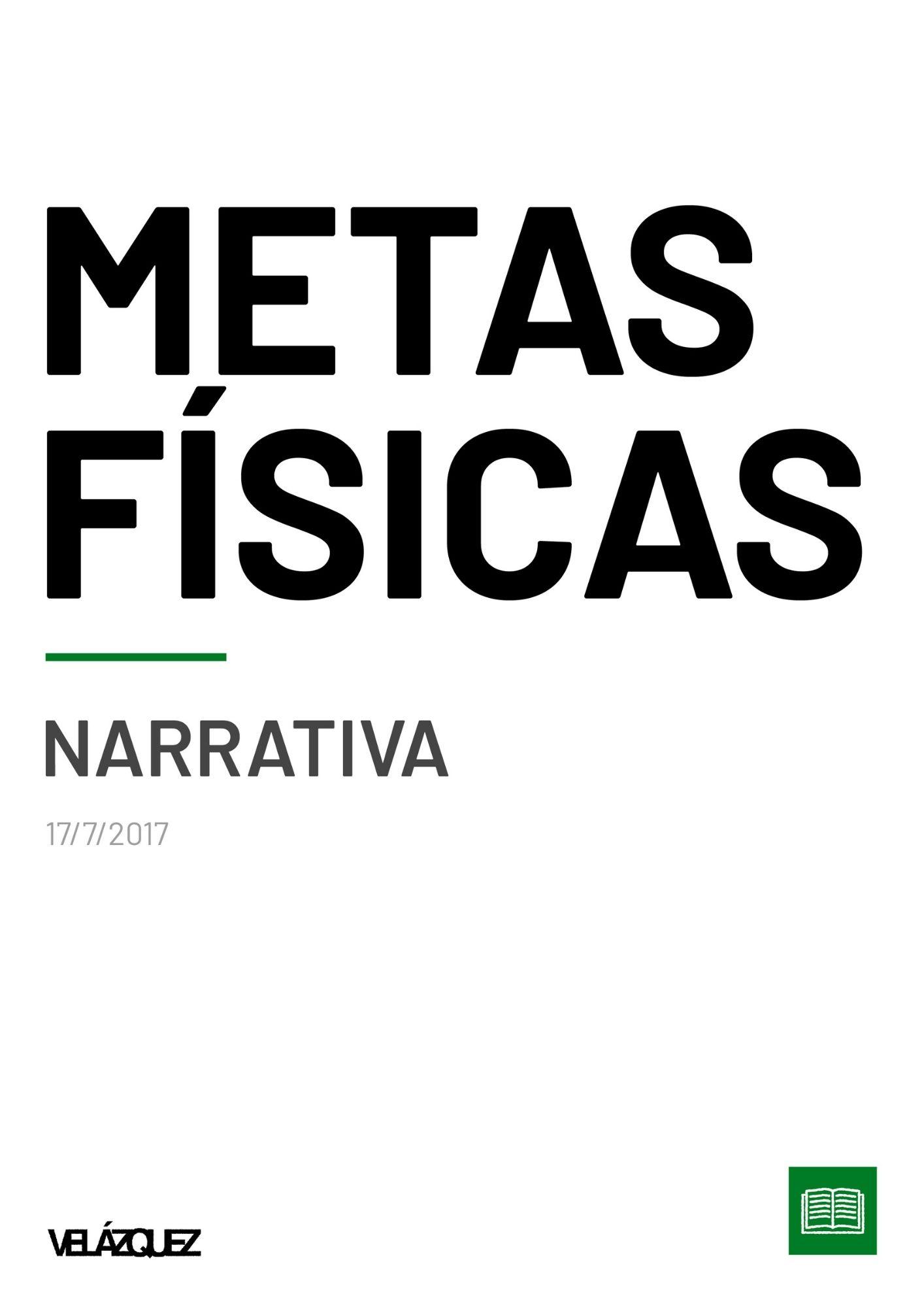 Metas físicas - Narrativa - Fabri Velázquez