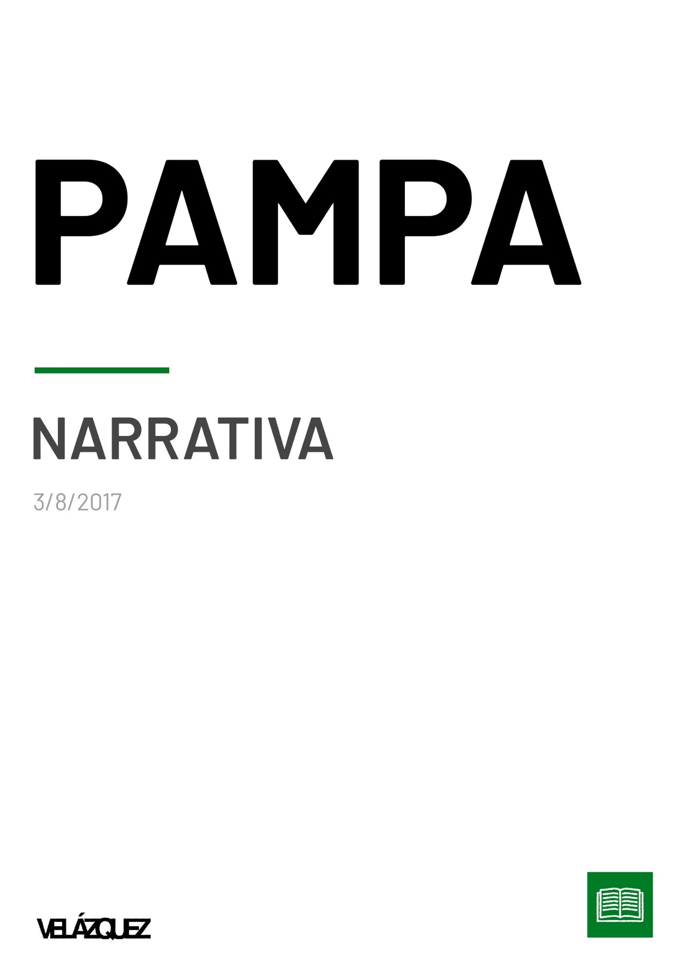 Pampa - Narrativa - Fabri Velázquez