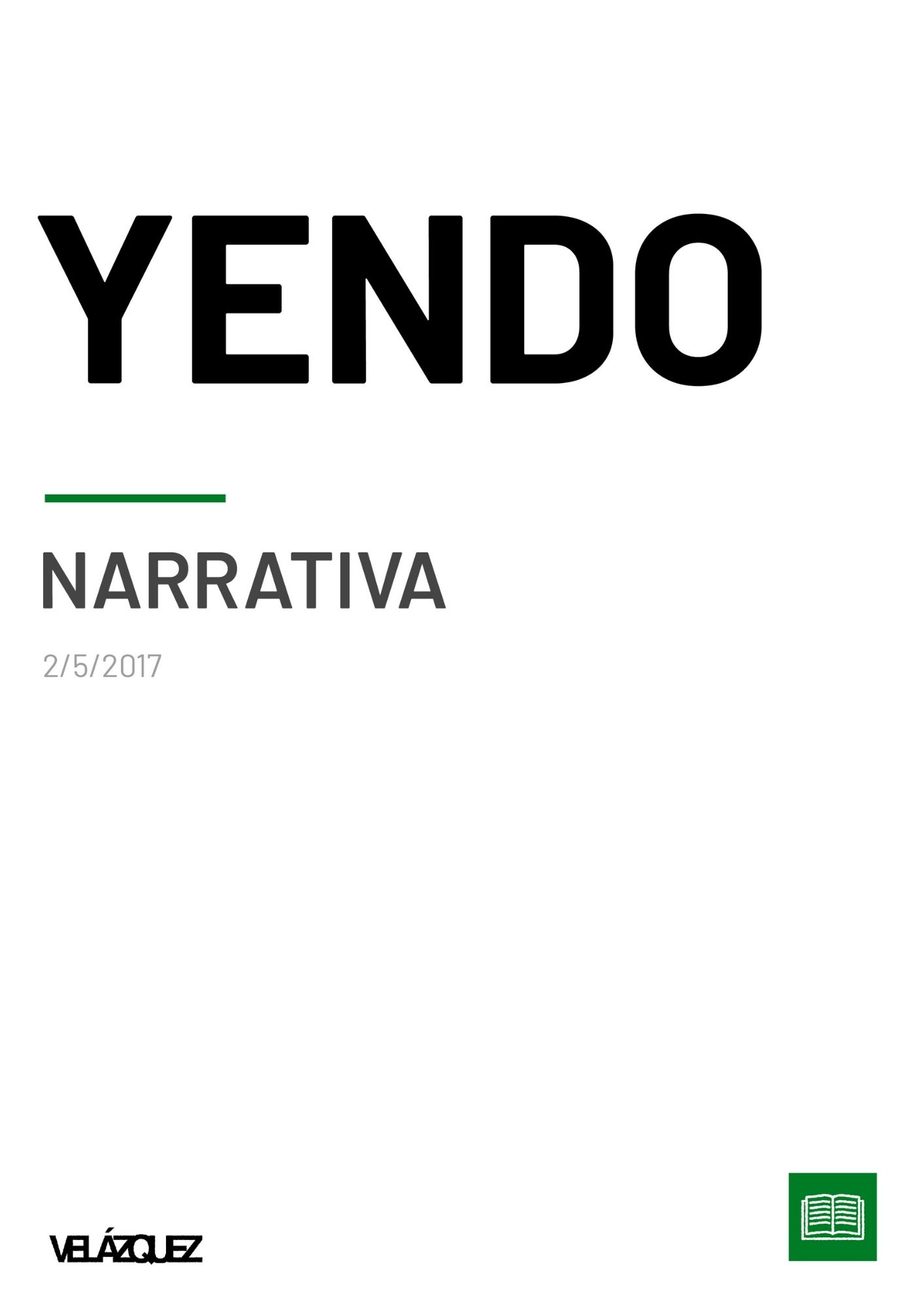 Yendo - Narrativa - Fabri Velázquez