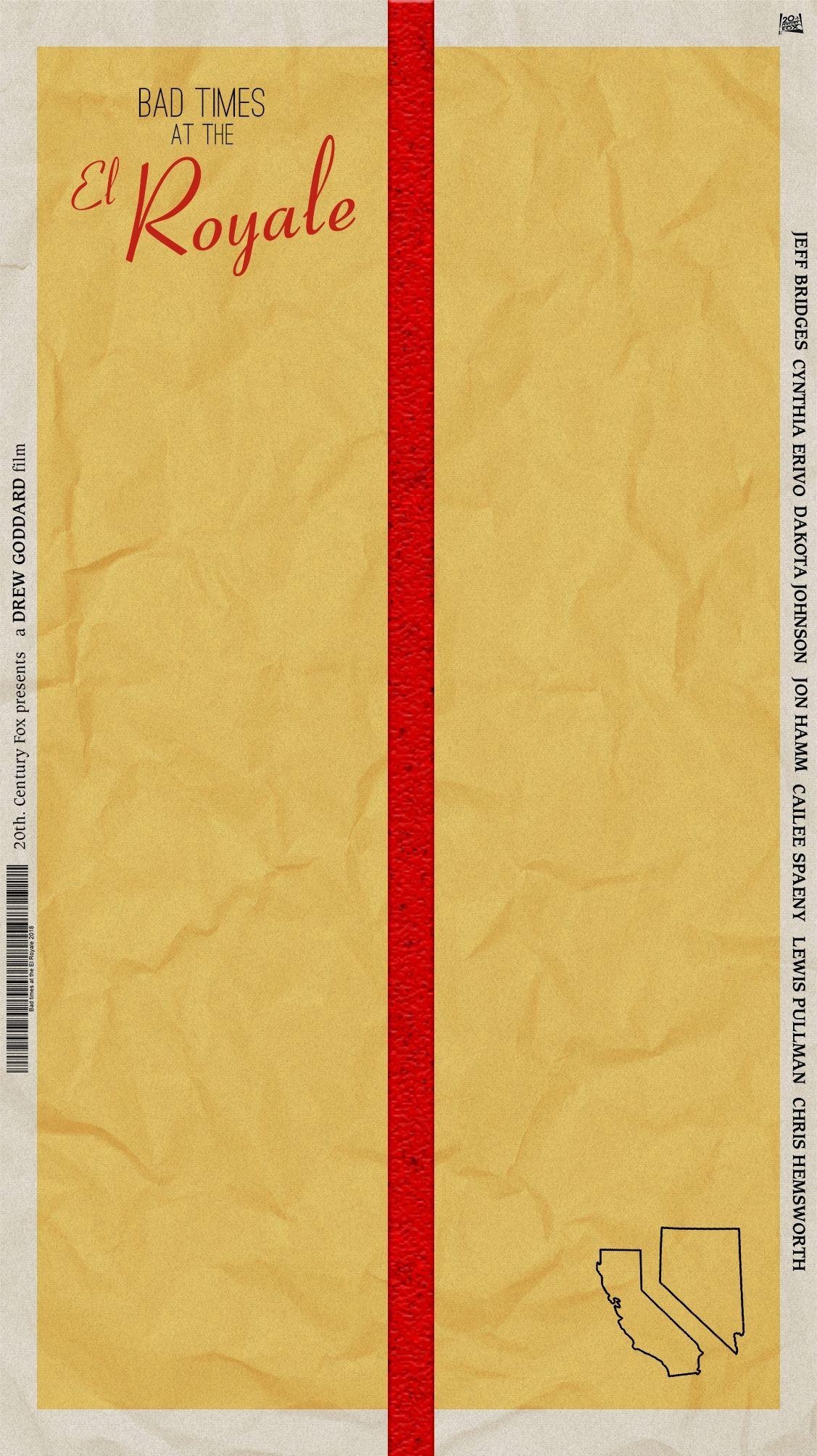 Bad Times at the El Royale - Póster Concept Design - Fabri Velázquez