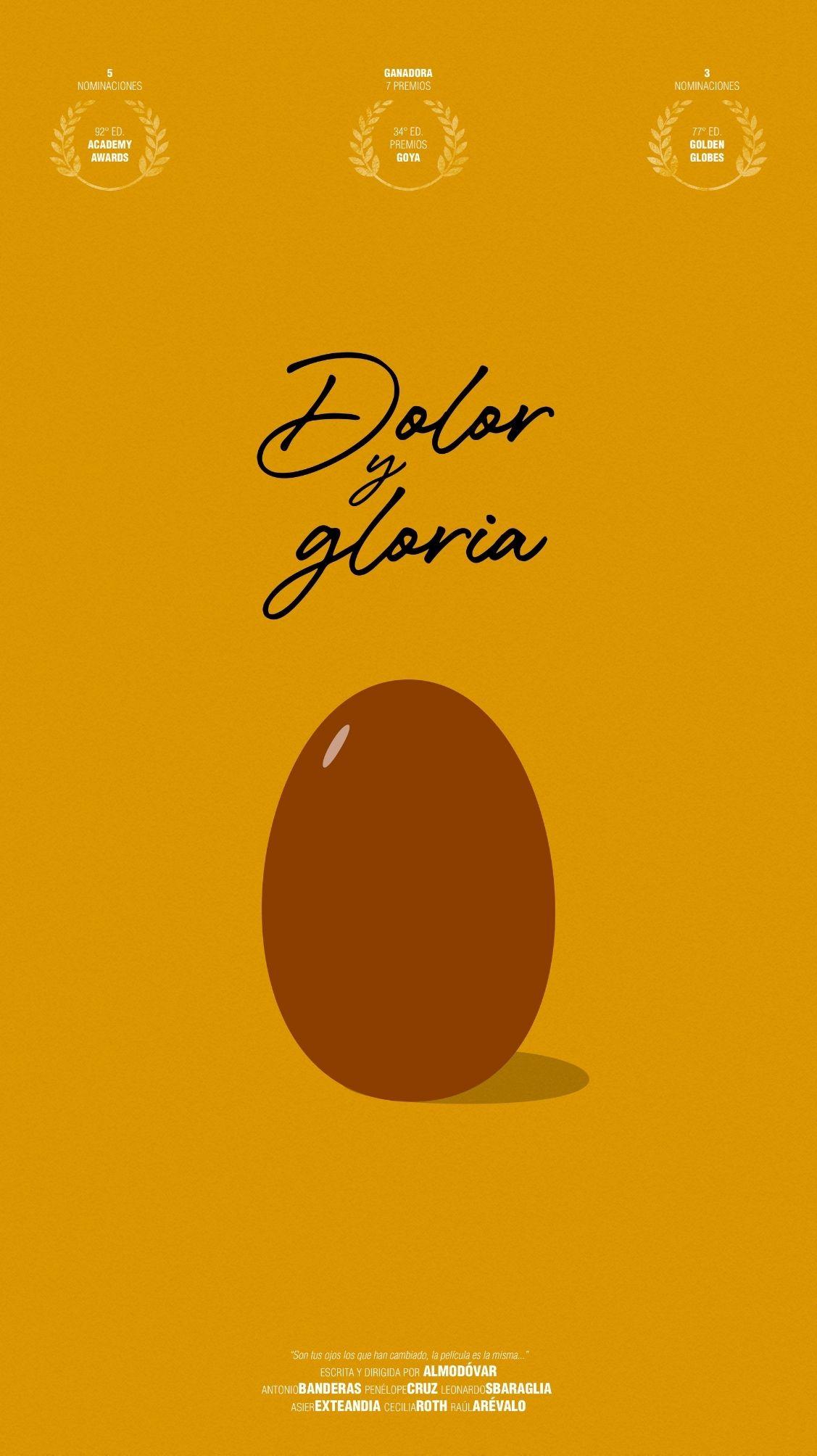 Dolor y Gloria - Póster - Fabri Velázquez
