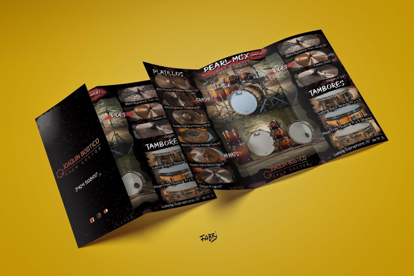 Portfolio Fabri Velázquez - Drum Doctor