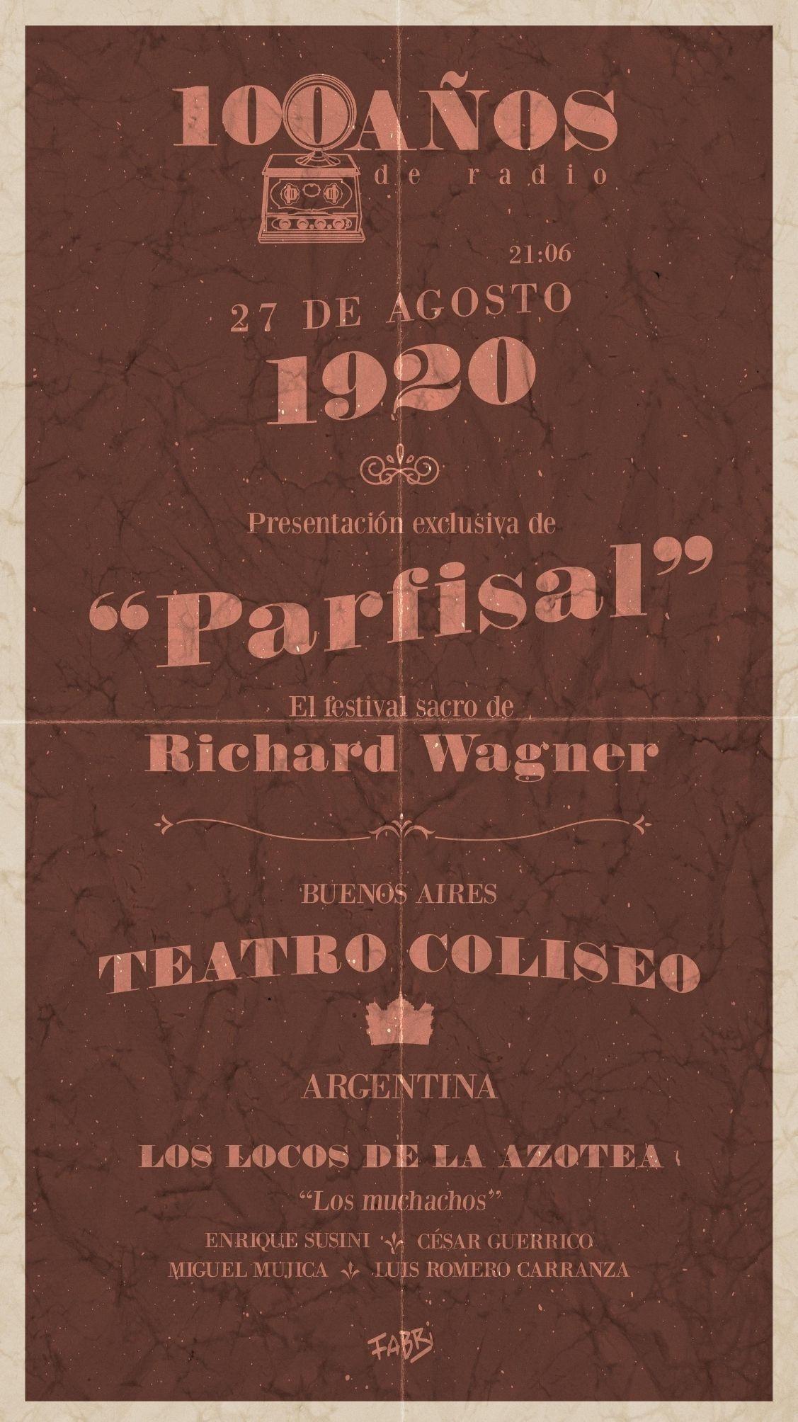 Portfolio de Fabri Velázquez - 100 años de la radiofonía Argentina
