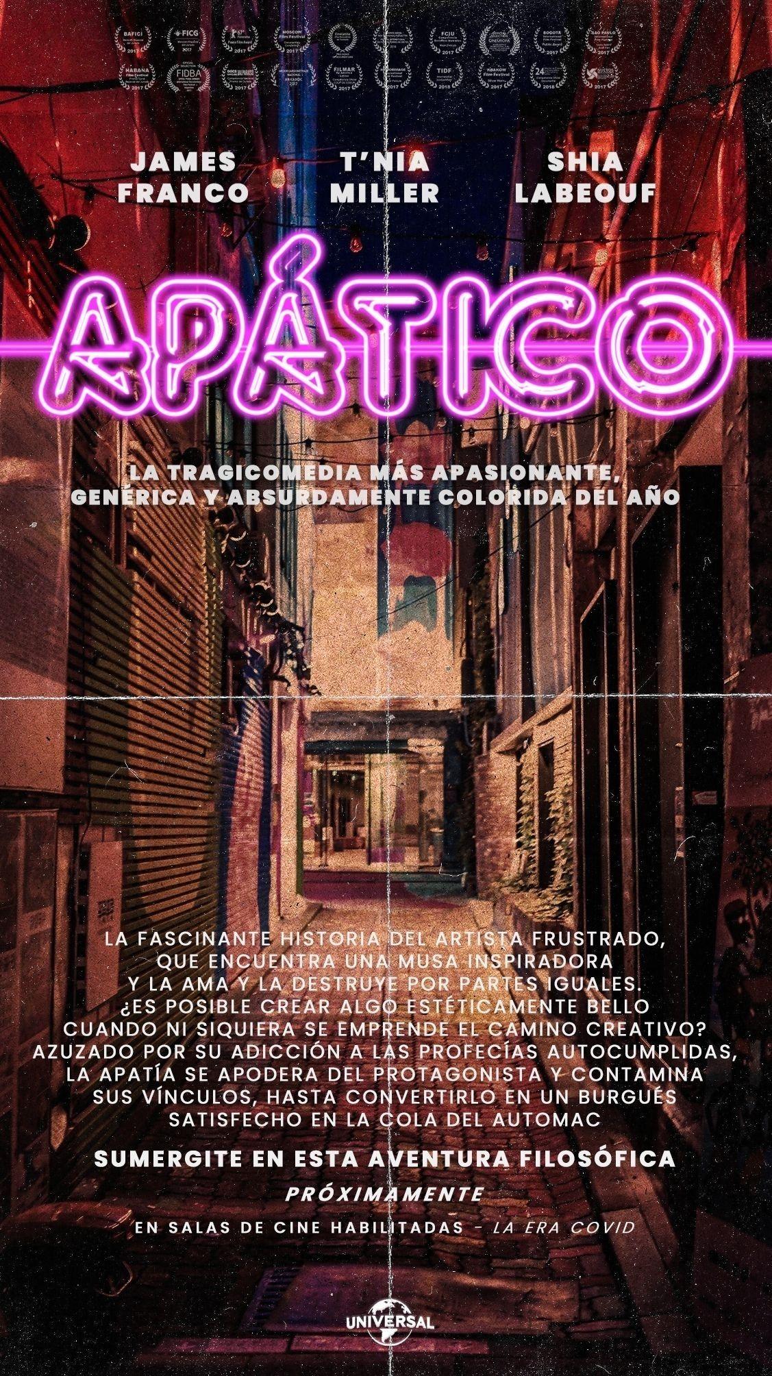 Portfolio de Fabri Velázquez - Póster de película Apático