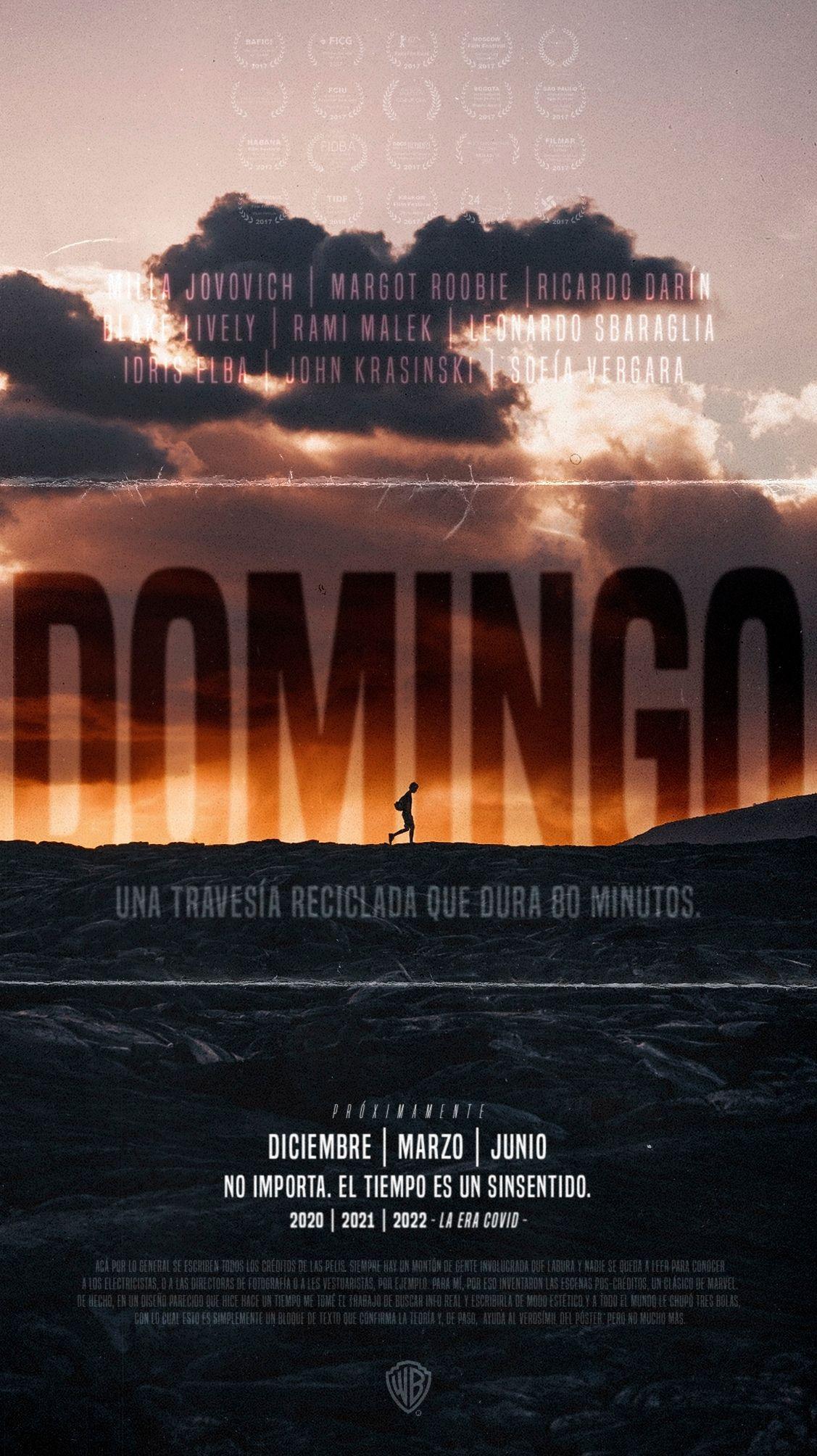 Portfolio de Fabri Velázquez - Póster de película Domingo
